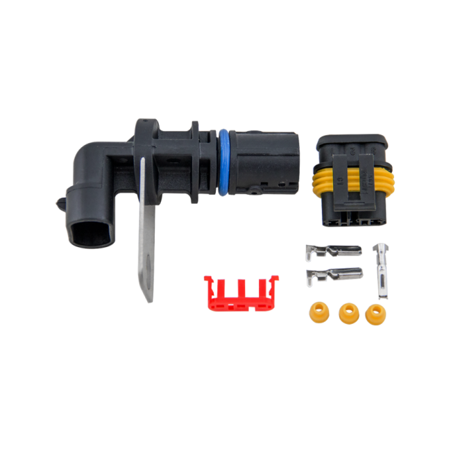 Crankshaft Crank Position Sensor + Wiring Connector Plug