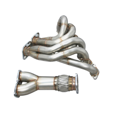 Performance Header For 93-02 Supra MK4 SC300 2JZGE 2JZ-GE Engine