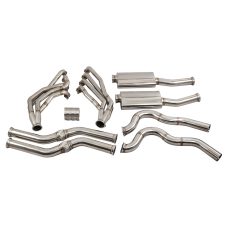 Headers Dual Catback Exhaust System for 67-69 Camaro LS1 LSx Engine