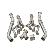 High Performance Headers Exhaust Y Pipe For RX7 RX-7 FC LS LS1 Engine