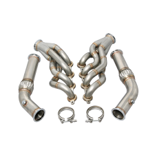 High Performance Header Downpipe Kit For 74-81 Camaro with LS1 Engine