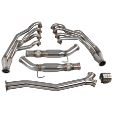 New Version Headers + Y Exhaust Pipes For 240SX S13/S14 LS1 LS Engine