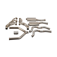 Headers Y Pipe Catback Exhaust System for 67-69 Camaro SBC Small Block