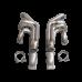 Turbo Manifold Header For Chevrolet Small Block SBC + Vband Elbow T3