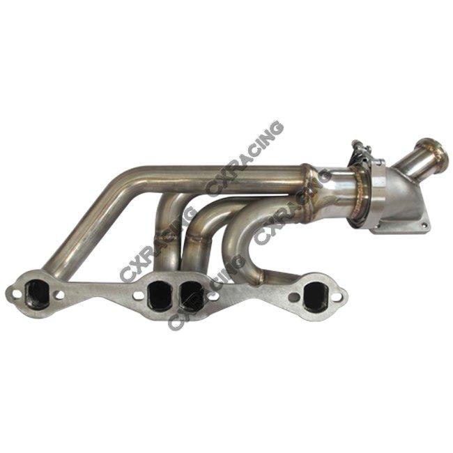 Twin Turbo Header Manifold Kit For 63-67 Chevrolet