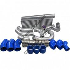 Intercooler + Piping Kit For 89-97 Toyota Land Cruiser J80 1FZ-FE 1FZ T4 T70 1FZFE