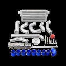 Intercooler + Piping Kit For 93-02 Toyota Supra MK4 2JZ-GE  2JZGE Engine