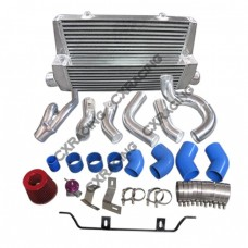 Intercooler + Piping + Turbo Intake Kit For 98-05 Lexus IS300 2JZ-GTE Factory Twin Turbo