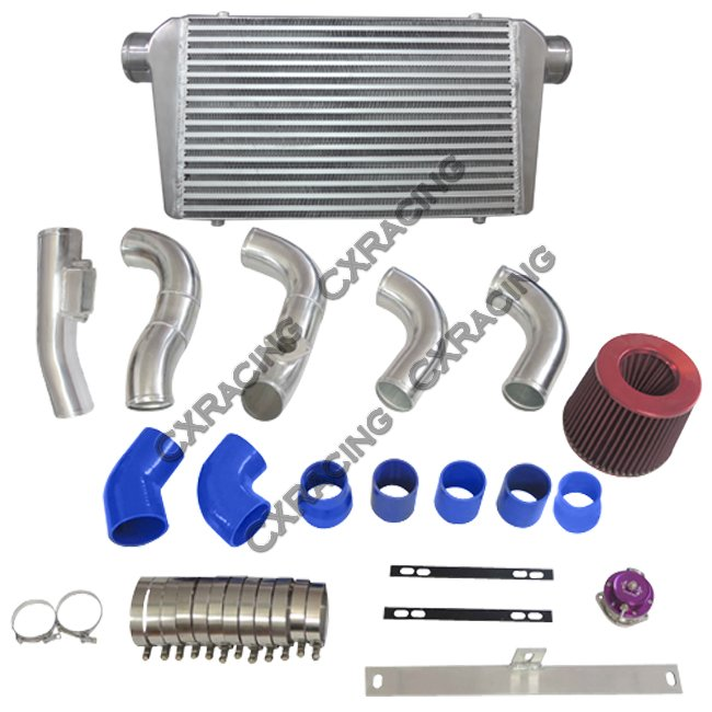 CX Stock Turbo Cold Air Intake Piping Filter Kit For 88–92 Cressida 2JZ-GTE MX83