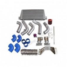 Intercooler Piping Engine Transmission Mount Swap Kit For 240SX S13 S14 2JZ-GTE 2JZGTE