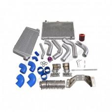 Intercooler Piping Engine Transmission Mount Rad Swap Kit For 240SX S13 S14 2JZ-GTE 2JZGTE