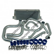 Front Mount Intercooler Kit For 3000GT VR-4 VR4 Stealth + Aluminum Air Pipe