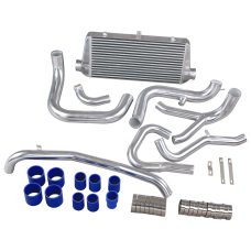 Front Mount Intercooler Piping Kit For Mitsubishi 3000 GT VR-4 & Dodge Stealth TT
