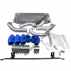 FMIC Intercooler Kit + Cold Intake Pipe and HeatShield For 02-05 Audi A4 B6 1.8T Turbo