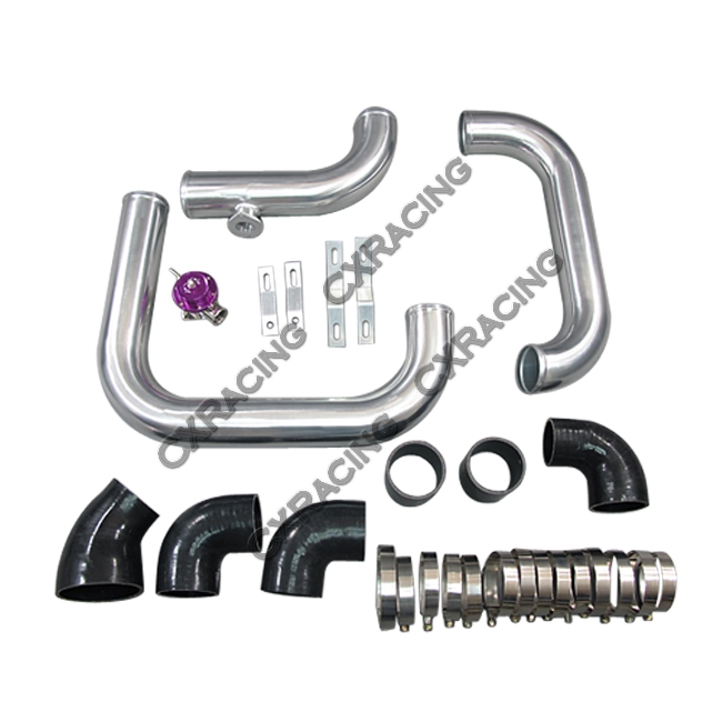 front mount intercooler kit with bov for camaro ls1 single