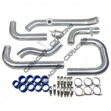 Newly Intercooler Piping Kit + BOV For 88-00 Civic D D16 B16 B18