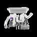 Intercooler Kit For 92-00 Honda Civic with D15 D16, D-Series SOHC Engine.