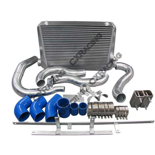front mount intercooler kit for 94 1 2 97 ford f250 f350 super rh cxracing com 1997 F250 Heavy Duty 1997 F250 Lifted