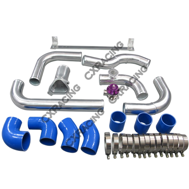 03 650x650 front mount intercooler kit for 86 91 mazda rx7 rx 7 fc fc3s