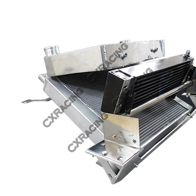 intercooler and radiator v