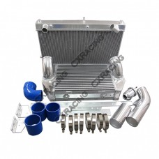 Intercooler and Radiator V-Mount Kit For RX7 FD