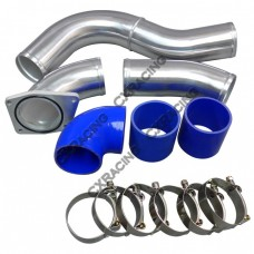 "3"" Cold Side Piping Kit For 03-07 Ford Super Duty 6.0L PowerStroke Diesel V8"