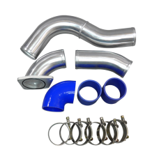 """3"""" Cold Side Piping Kit For 03-07 Ford Super Duty 6.0L PowerStroke Diesel V8"""