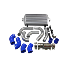 Intercooler + Piping Kit For 2011+ Jeep Grand Cherokee WK2 Turbo Diesel 3.0L