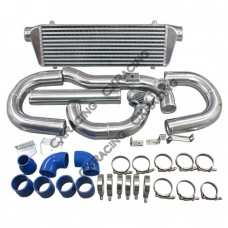 Intercooler + Piping Hose Clamp + BOV Kit For 08+ Hyundai Genesis Coupe 2.0T Turbo