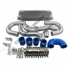 Intercooler Piping Kit For 08+ Hyundai Genesis Coup GC Top Mount Turbo + BOV