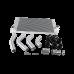Intercooler Piping Kit For 15-16  Silverado Sierra HD 6.6L LML Duramax Diesel