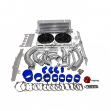 Turbo Intercooler Piping BOV Radiator For Chevrolet Corvette C6 LS LS3 NA-T