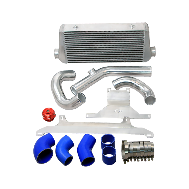 Ls1 Engine Description: Single Turbo Manifold Downpipe Intercooler Kit For 74-81