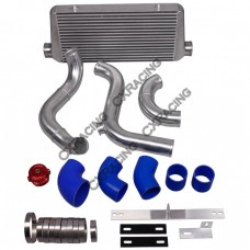 "3"" Core Intercooler Piping BOV Kit For 79-93 Ford Mustang LS1 LSx Engine Swap"