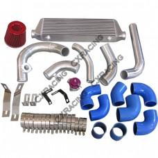 Intercooler Piping Kit + Turbo Intake Pipe Filter BOV For Miata 1.8L NA-T