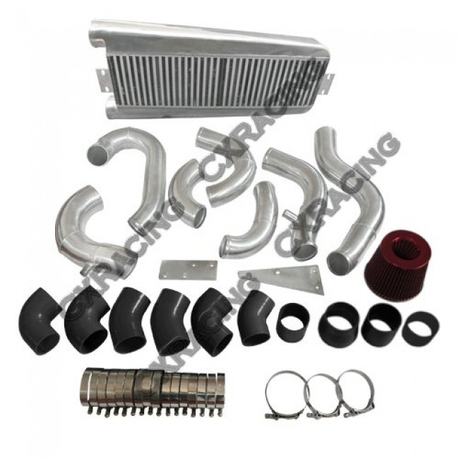 Vortech V3 Supercharger Review: FMIC Intercooler Piping Kit + Intake Filter For 87-93