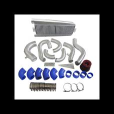 FMIC Intercooler Piping Kit + Intake Filter For 87-93 Mustang 5.0 Supercharger