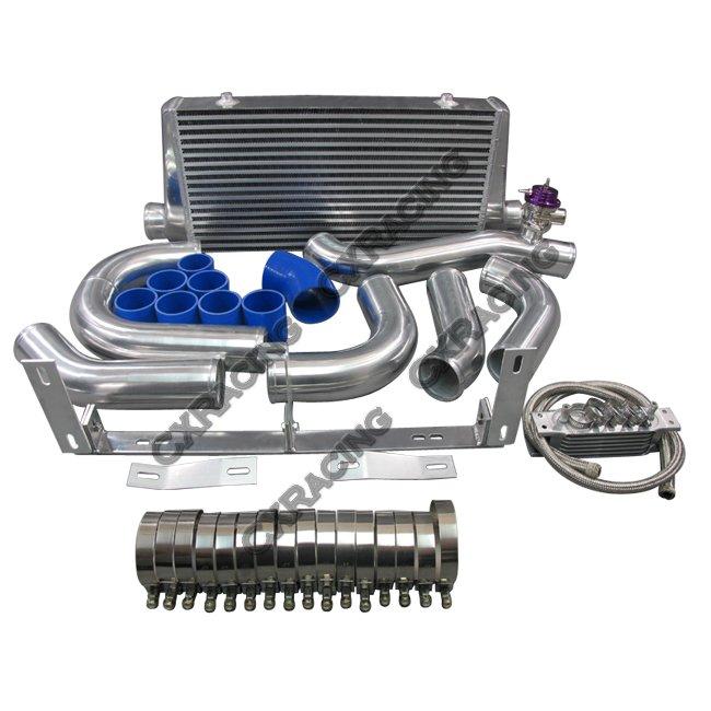 Supercharger Kits Holden Ve V8: Front Mount Intercooler Kit For 96-04 Ford Mustang 4.6L V8