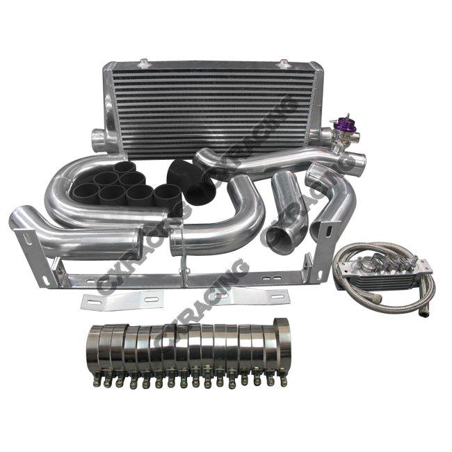 Vortech V2 Supercharger Oil: Front Mount Intercooler Kit For 96-04 Ford Mustang 4.6L V8