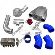 Air-Water Intercooler Piping BOV Kit For 64-68 Ford Mustang 289/302 V8 SBC