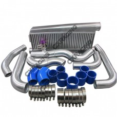 FMIC Intercooler Kit For 79-93 Fox Body Ford Mustang V8 5.0 Twin Turbo GT35
