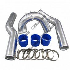 "3.5"" Intake + Intercooler Piping Kit For 3rd Gen 02-08 Dodge Ram 5.9 Cummins"