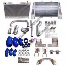 V-M Intercooler Radiator Engine Transmission Kit for RB25DET 300ZX Z32