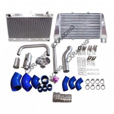 V-M Intercooler Radiator Kit for RB25DET Engine 300ZX Z32 RB25 Top Mount