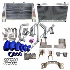 V-M Intercooler Radiator Engine Transmission Kit for RB25DET 300ZX Z32 Stock Turbo