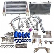 V-M Radiator Intercooler Engine Transmission Kit for RB25DET 300ZX Z32