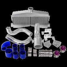 Twin Turbo Intercooler Piping BOV Kit for SBC Engine 82-92 Camaro Small Block
