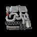 Intercooler Piping BOV Kit For Chevelle Nova Malibu Impala SBC V8 Turbo