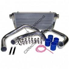 "31""x12""x3"" Front Mount Intercooler Kit For R32 R33 R34 GTR GTS RB20DET RB25DET"