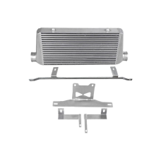 """31x12x3 Intercooler + Mounting Bracket For 05-14 Ford Mustang 3"""" Core"""